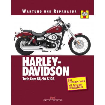 Harley Davidson Twin Cam 88 / 96 / 103 (99>) - Reparaturanleitung Schrauberbuch
