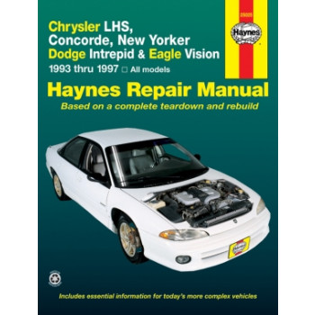 Chrysler New Yorker, Concorde / Dodge Intrepid, Eagle (93-97) Repair Manual