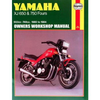 Yamaha XJ650 /  XJ750 Fours (80-84) Repair Manual Haynes