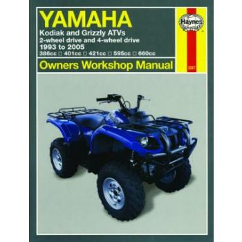 Yamaha Kodiak / Grizzly ATV Quad (93-05) Repair Manual Haynes