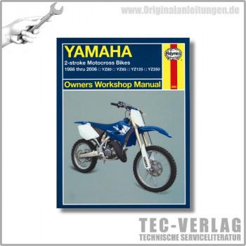 Yamaha YZ80, 85, 125, 250 (86-06) - Repair Manual Haynes