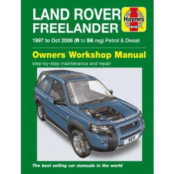 Landrover Freelander (97-06) Haynes Repair Manual
