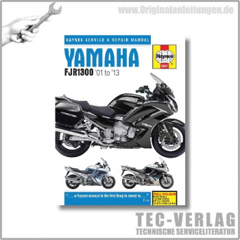 Yamaha FJR1300 (01-13) Repair Manual Haynes