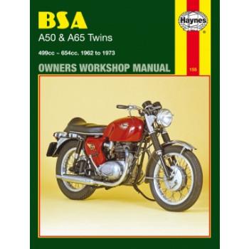 BSA A50, A65 Twins (62-73) - Repair Manual Haynes