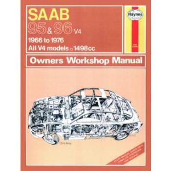 Saab 95 / 96 V4 (1966 - 1976) Repair Manual Haynes
