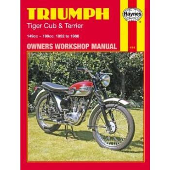 Triumph Tiger Cub & Terrier (52 - 68) - Repair Manual Haynes