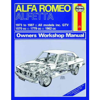 Alfa Romeo Alfetta Petrol (73 -87) Haynes Repair Manual