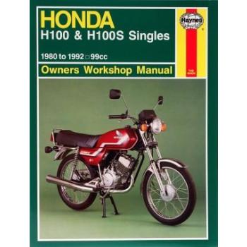 Honda H100 / H100S (80 - 92) - Reparaturanleitung Haynes