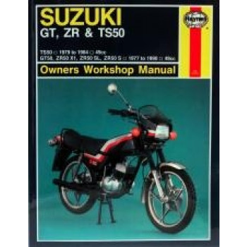 Suzuki GT, ZR & TS50 (77 - 90) - Repair Manual Haynes
