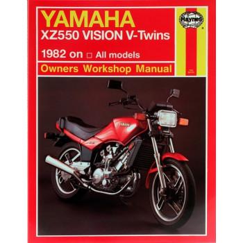Yamaha XZ 550 Vision V-Twins (82-83) Repair Manual Haynes