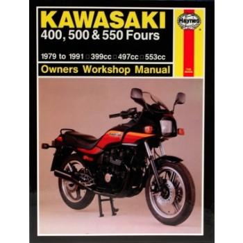 Kawasaki 400/500/550 FOURS (79-91) Repair Manual Haynes