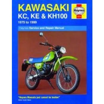 Kawasaki KC, KE and KH100 (75 - 99) Repair Manual Haynes