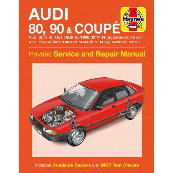 Audi 80, 90, Coupe Petrol (86-90) Haynes Repair Manual
