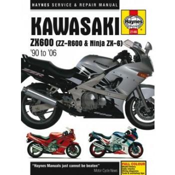 Kawasaki ZX600 (90-06) - Reparaturanleitung