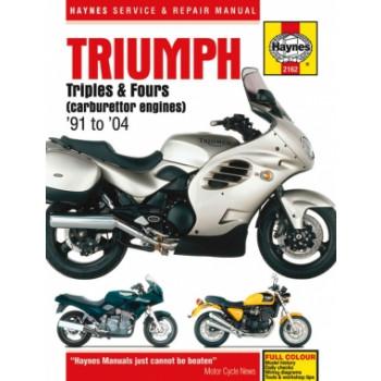 Triumph (91-04) - Repair Manual Haynes