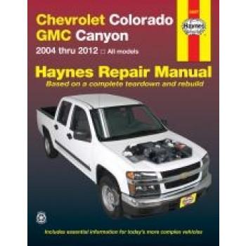 Chevrolet Colorado / GMC Canyon (04-10) - Repair Manual Haynes