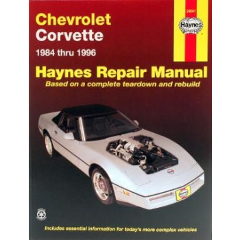 Chevrolet Corvette (84-96) - Repair Manual Haynes