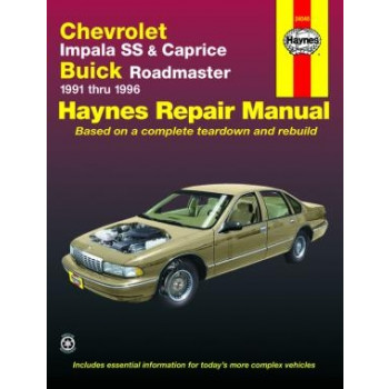 Buick Roadmaster (91-96) - Repair Manual Haynes