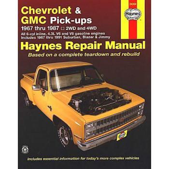 Chevrolet & GMC Pick Ups (67 - 87) Repair Manual Haynes
