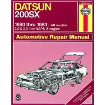 Datsun 200SX (80 - 83) - Repair Manual Haynes