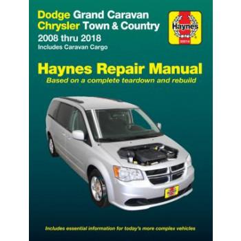 Dodge Grand Caravan/Chrysler Town & Country (08-18) Repair Manual Haynes