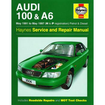 Audi 100 & A6 Petrol / Diesel (91-97) Haynes Repair Manual