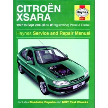 Citroën Xsara Petrol & Diesel (97-00) Repair Manual Haynes