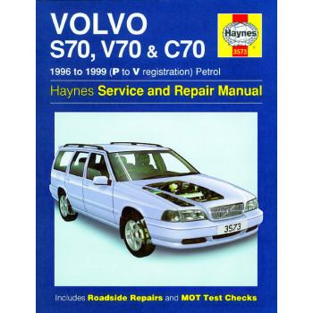 Volvo S70, V70 & C70 Petrol (96-00) Repair Manual Haynes