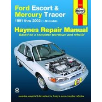 Ford Escort (91 - 00) - Repair Manual Haynes