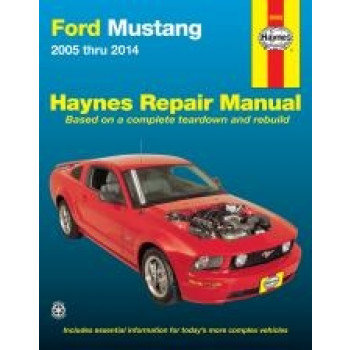 Ford Mustang (05-07) - Repair Manual Haynes
