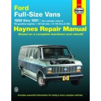 Ford Vans (69 - 91) - Repair Manual Haynes
