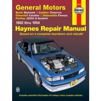 Buick Skyhawk (82-94) - Repair Manual Haynes