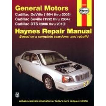Cadillac Deville and Seville (92-02) - Repair Manual Haynes