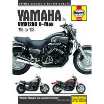 Yamaha V-Max (85 - 03) - Repair Manual Haynes