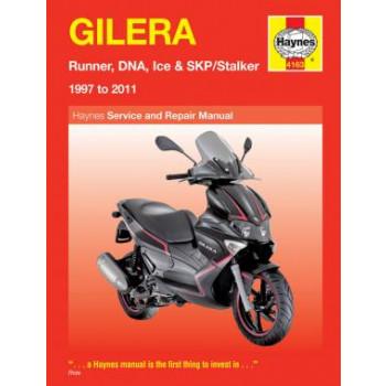 Gilera Runner, DNA, Ice & SKP / Stalker (97-07) Repair Manual Haynes