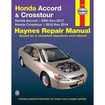 Honda Accord & Crosstour Petrol (03-14)) Repair Manual Haynes