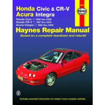 CR-V Acura Integra (96 - 01) - Repair Manual Haynes