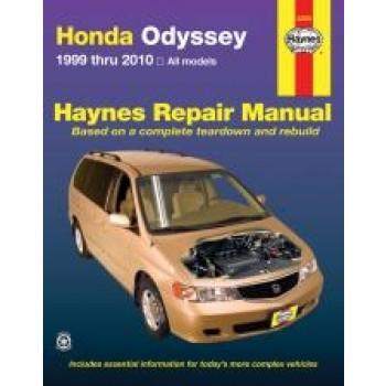 Honda Odyssey (99 - 04) - Repair Manual Haynes