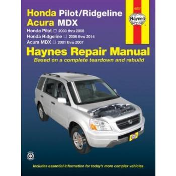 Honda Pilot Ridgeline Acura MDX (01-12) Reparaturanleitung