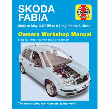 Skoda Fabia 6Y Petrol & Diesel (00-07) Repair Manual Haynes