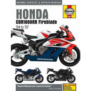 Honda CBR1000RR Fireblade (04-07) Repair Manual Haynes