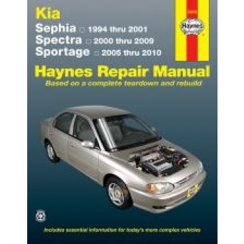 Kia Sephia (94 - 01) - Repair Manual Haynes