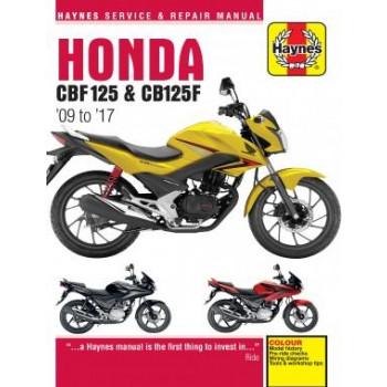 Honda CBF125 (09-12) - Reparaturanleitung