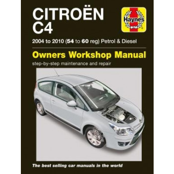 Citroen C4 (2004-2010) Repair Manual Haynes