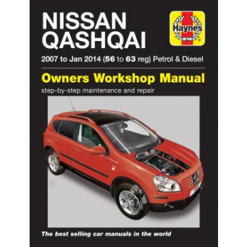 Nissan QashQai (2007-2013) - Owners Workshop Manual