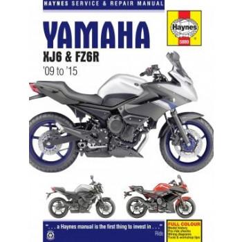 Yamaha XJ6 /FZ6R Fazer (09-15) Repair Manual Haynes