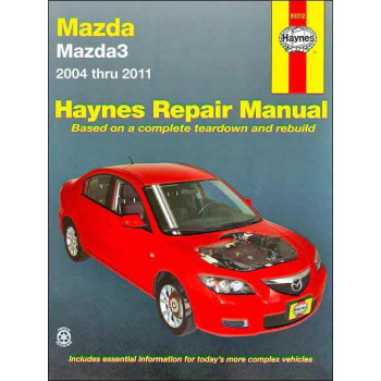 Mazda 3 (04-11) Repair Manual Haynes