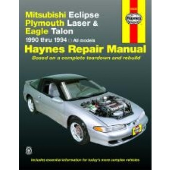 Eagle Talon (90 - 94) - Repair Manual Haynes