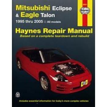 Eagle Talon (95 - 01) - Repair Manual Haynes