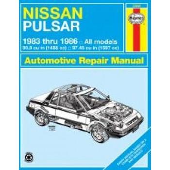 Nissan Pulsar (83 - 86) - Repair Manual Haynes